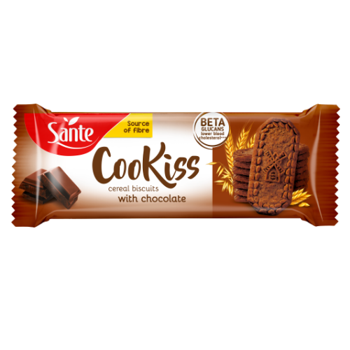 Breakfast cookiss with chocolate 50g