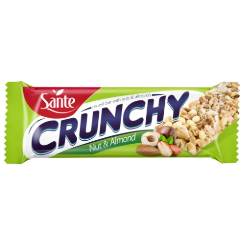 Crunchy Bar with nuts and almonds 35g