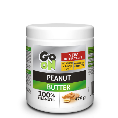GO ON Peanut butter smooth 470g Sante