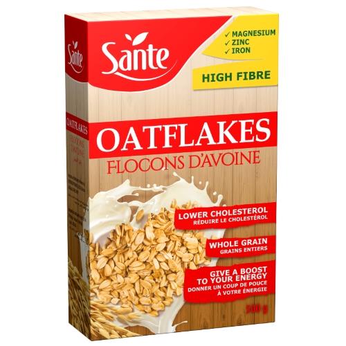 Oat flakes 500g carton box