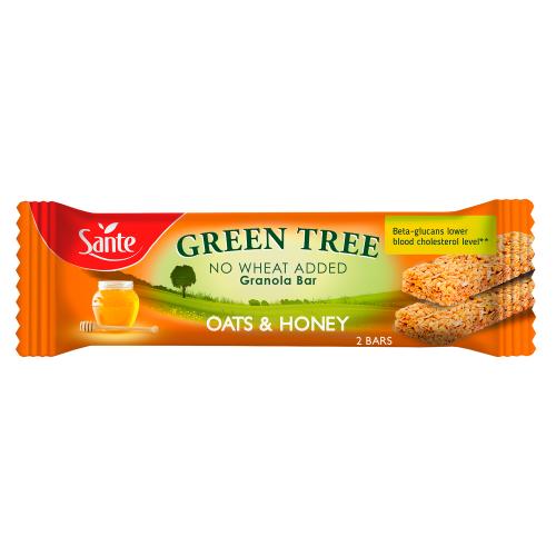 GREEN TREE honey granola bar 40g