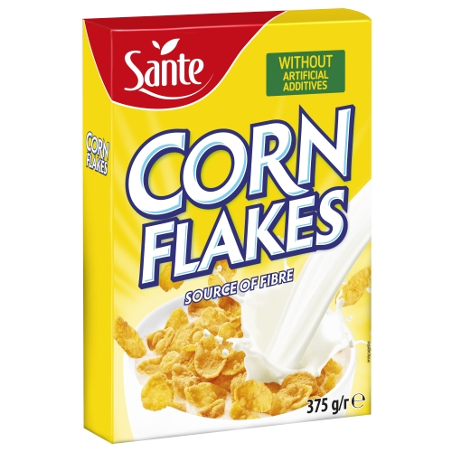 Corn flakes carton box 375g