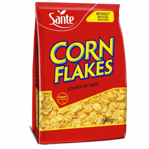 Corn flakes 500g Sante
